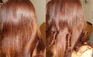 Обесцвечивание волос супрой