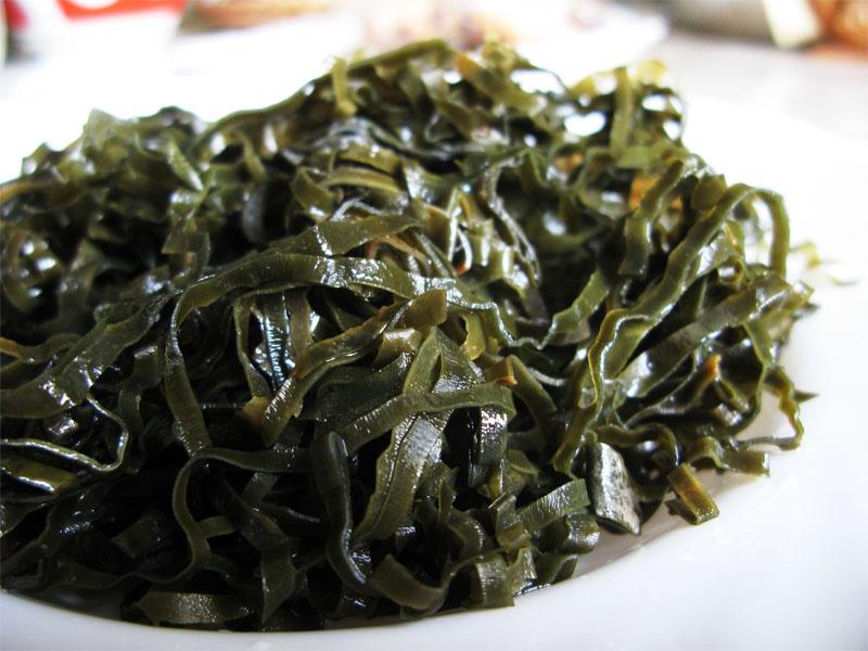 диета на морской капусты маринованной